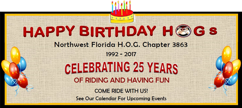 Happy Birthday Pensacola HOG